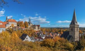 Warburg im Herbst