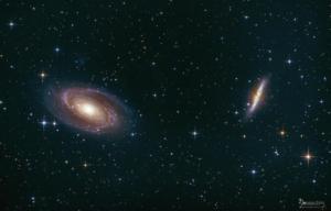 Bodes und Zigarren Galaxie