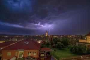 Gewitter über Warburg