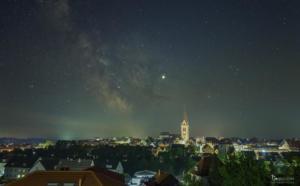 Milchstraße über Warburg
