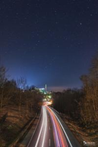 Nacht über Warburg