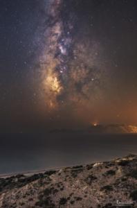 Milchstraße auf Kos