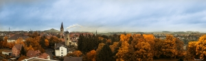 Warburg Panorama im Herbst