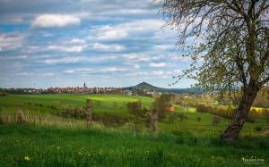 Ausblick auf Warburg