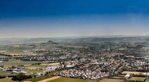 Luftaufnahmen von Warburg