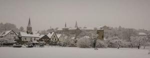 Warburg im Winter
