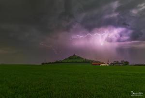 Blitz und Donner am Desenberg