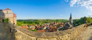 Panoramablick über die Warburger  Altstadt