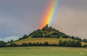 Regenbogen am Desenberg